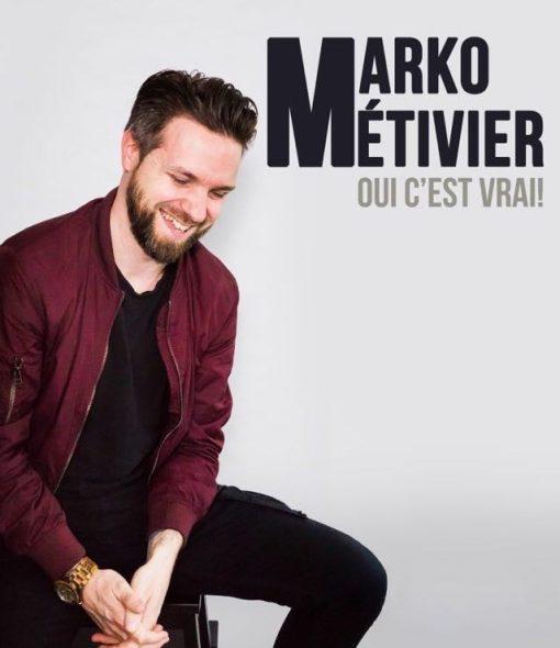 Marko Métivier au Momos Comedie Club - Humour Bromont